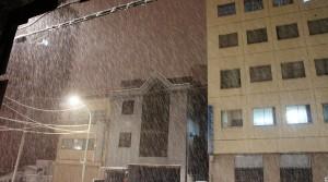 雪降る東京