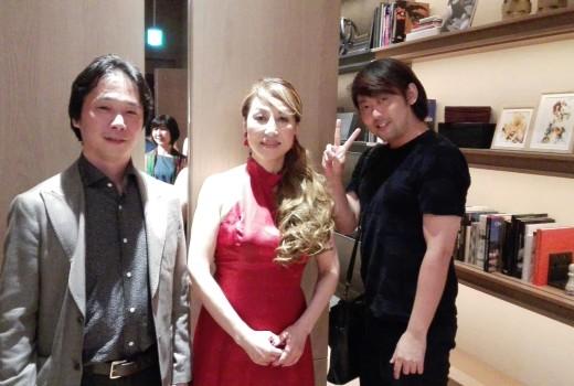 北谷和子さんと森井社長